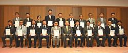 2010年6月10日登録証交付式分