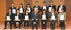2010年12月27日登録証交付式分