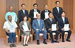 2011年6月29日登録証交付式分