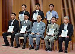 2012年7月12日登録証交付式分