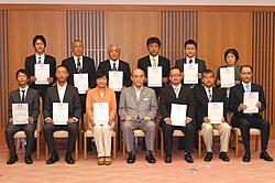 2013年9月6日登録証交付式分
